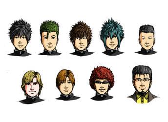High school's original characters 1 by tsukasa1608