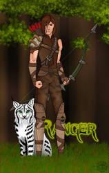 GuildWars Ranger by fledermaus