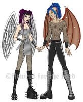 C8 Angels by fledermaus