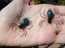 Bloo spiders by fledermaus