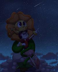 Gazing at Stars by TeeterGlance