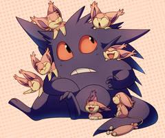 Kitten Attack by TeeterGlance