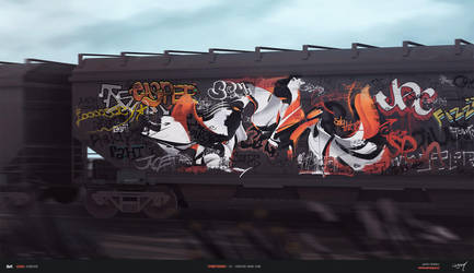 Street Series - Canton mainline by toThePixel