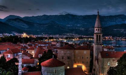 Budva: The Old City. by inbrainstorm