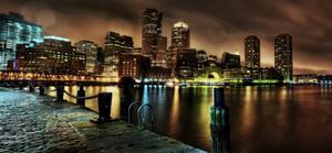 Boston: View From Fan Pier. by inbrainstorm
