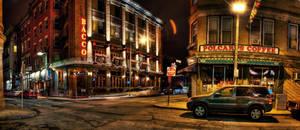 Boston: Salem Street. by inbrainstorm