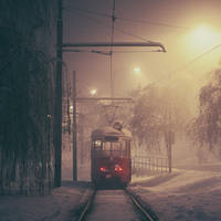 Sarajevo: The Lonely Tram. by inbrainstorm