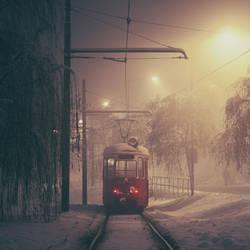 Sarajevo: The Lonely Tram. by inbrainstorm