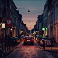 Lille: The evening. by inbrainstorm