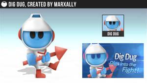 Dig Dug Smashified by MarxallyHD