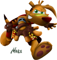 Ty the Tasmanian Tiger | Smashified TRANSPARENT by MarxallyHD