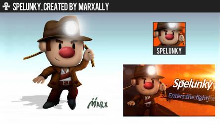 Spelunky | Smashified by MarxallyHD