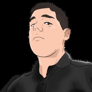 Self-portrait by MarxallyHD