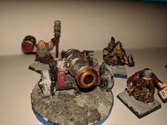 dwarf cannon crew by kolboldpaladin