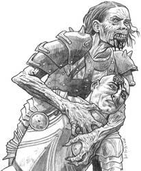 Dread Zombie by torenatkinson