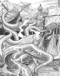 Kraken by torenatkinson
