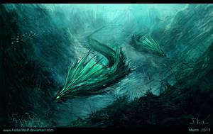 Creepfish by HeliacWolf