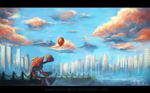 Melancholy by HeliacWolf