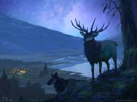The Night by HeliacWolf