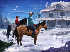 Winter by HeliacWolf