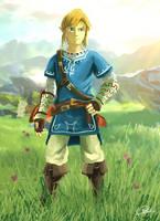 The Legend of Zelda (U) - Link by Rockxass