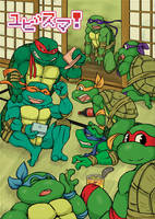 turtles forever by chikuwaaaaa