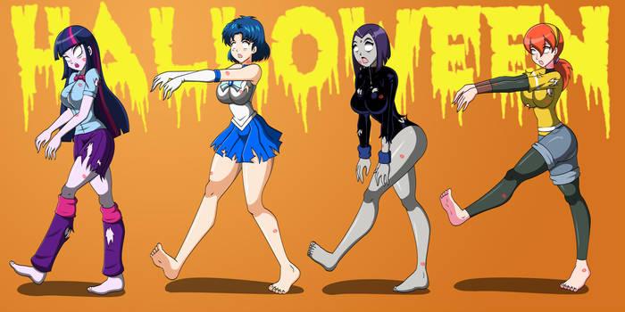 Return of the Smooch Zombies!!! by Daveyboysmith