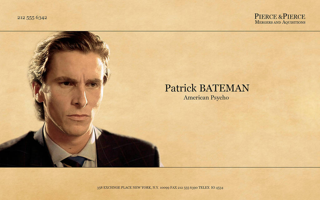 Patrick Bateman by LisenaPirus