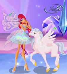 Prismatic Wings by FairyAmethyst