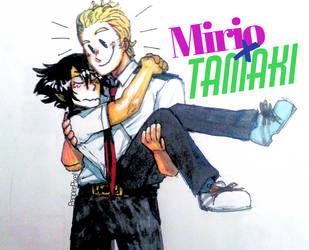 Mirio x Tamaki by PepperPixel