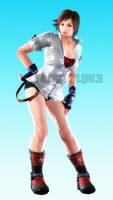 Asuka Kazama (Josie character panel pose) by lucalancez