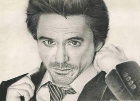 Robert Downey Jr. by DannyLovesArt
