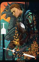 In Peace, Vigilance by Widdershins-Works