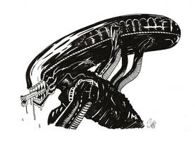 Alien - Hoy Estrena Prometheus by acmatico
