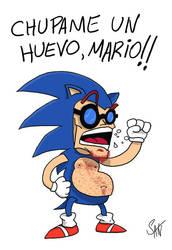 Amor por Sonic by acmatico
