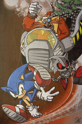 Sonic Christmas. by acmatico