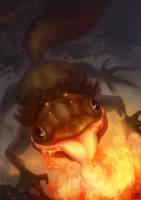 salamander by Hidanna