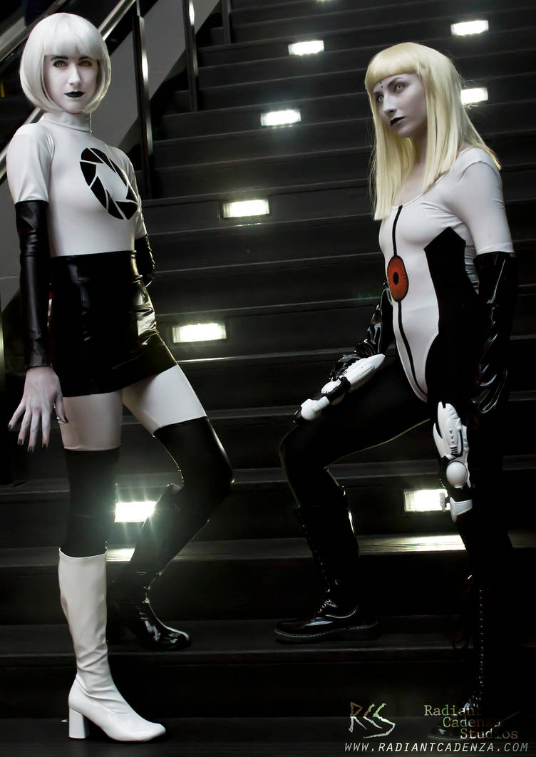 Aperture Science Girls by Radiant-Cadenza