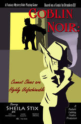 Goblin Noir Poster by Radiant-Cadenza