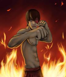 Firelord Zuko by chrisdog203