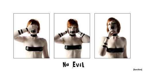No Evil by tarantulove