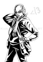 Deletia - faux comic ink by Kiiro-chan