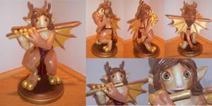 Bright Eyes - figurine by Kiiro-chan