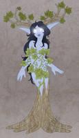 NightElf Druid - commish by Kiiro-chan