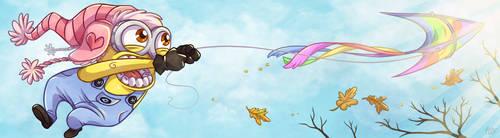 Kyte likes kites by Kiiro-chan