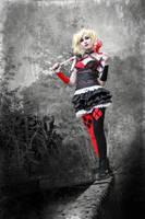 Harley Quinn - Arkham Knight by LadyNamyra