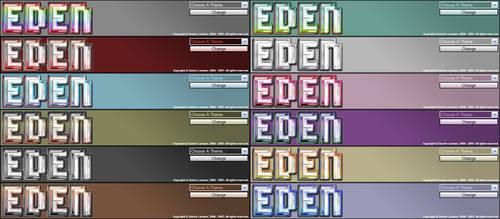 EDEN Logo Collection by WarZard