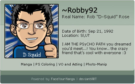 Robby92's Profile Picture