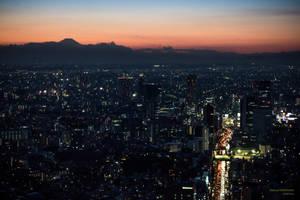 Roppongi Sky View, Tokyo by Belatheros