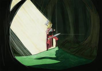 Aurora, the Sleeping Beauty by vanillajester